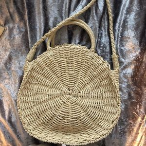 Woven bag perfect for summer!